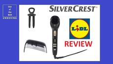 SilverCrest Quick Curl SHC 240 B2 REVIEW (Lidl 130°C 230°C 60 minutes Ø19 mm cable 180cm) - YouTube